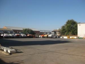 Parc machines et zone d'essais CORINSA