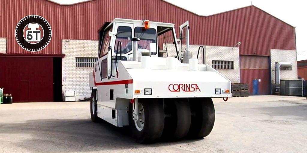 Compacteur à pneus CCR 21.35
