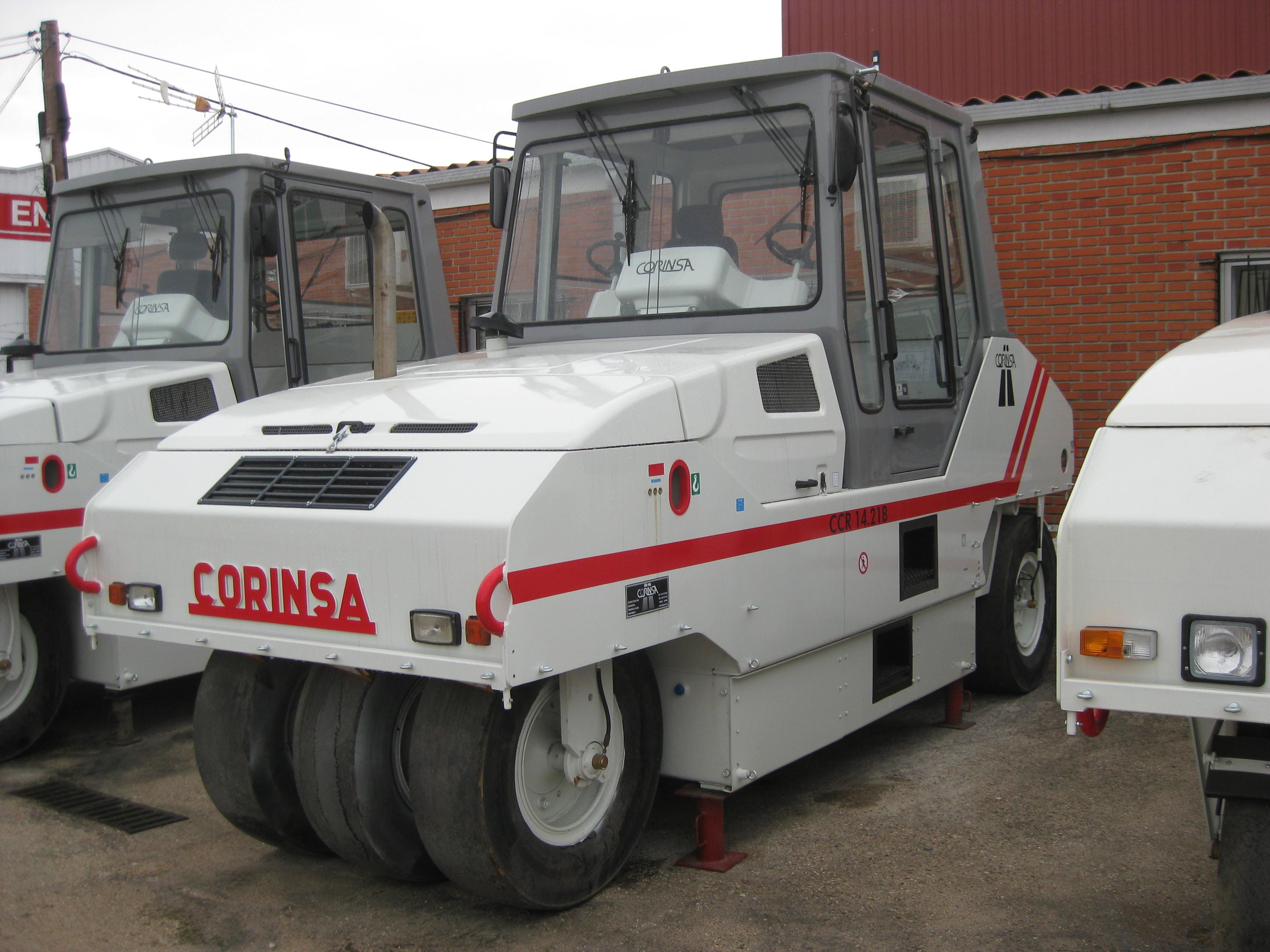 Compacteur à pneus d'occasion ref-0805072