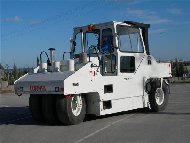 Compacteur à pneus d'occasion ref-0803114