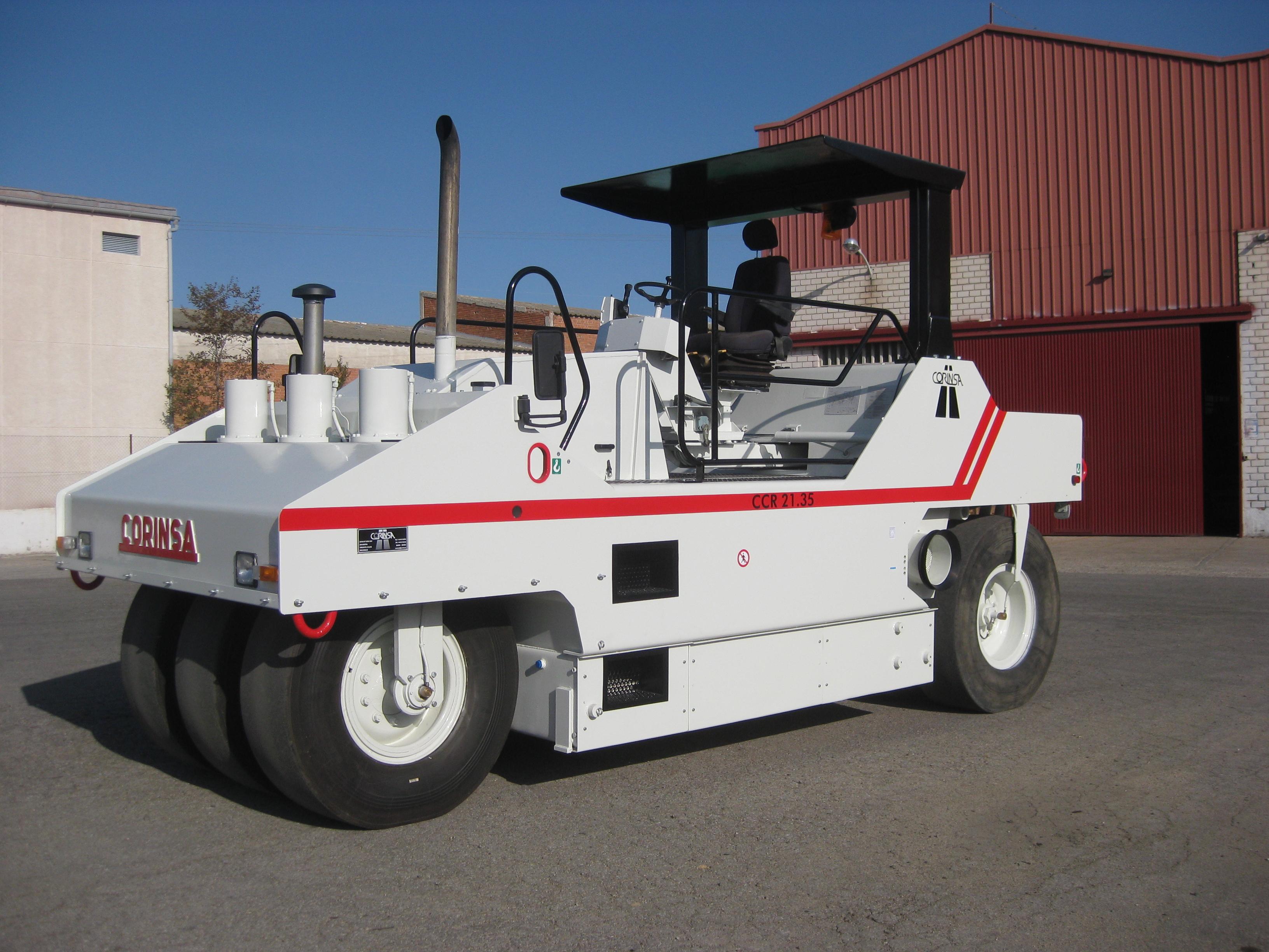 Compacteur à pneus d'occasion ref-0803125