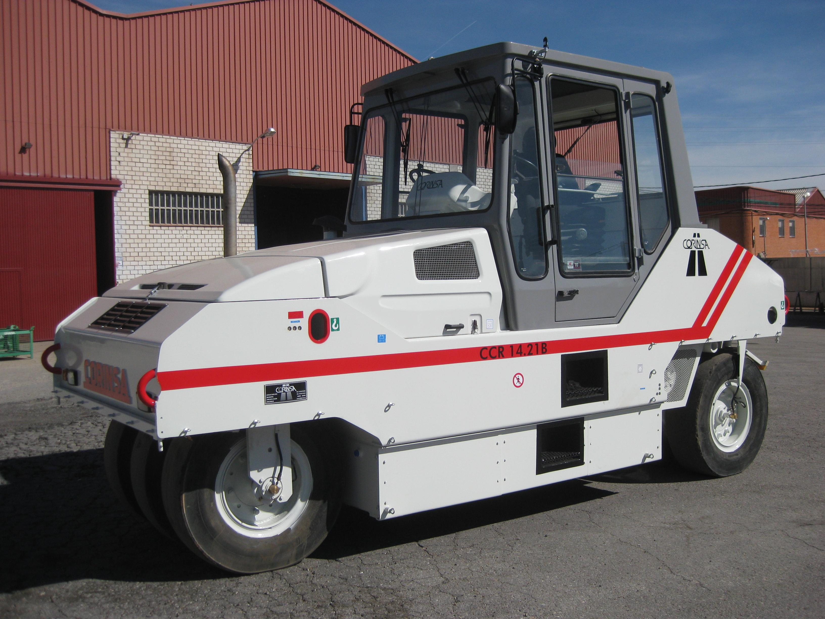Compacteur à pneus d'occasion ref-0805012